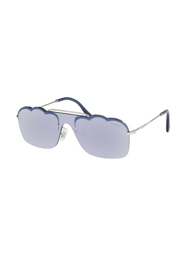 Miu Miu Miu Miu 55Us 1Bc-178 Kadın Güneş Gözlüğü Gümüş